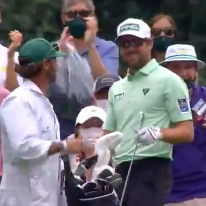 Masters 2021: Watch Corey Conners make a hole-in-one, play it super cool as he vaults into contention