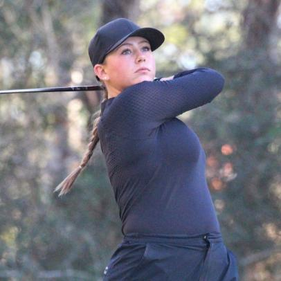 What's a 16-year-old girl doing playing in a Korn Ferry Tour Monday qualifier? Getting better