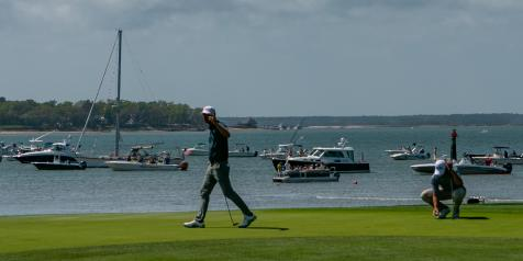 The secret to watching golf from a yacht on Hilton Head? Forget the golf
