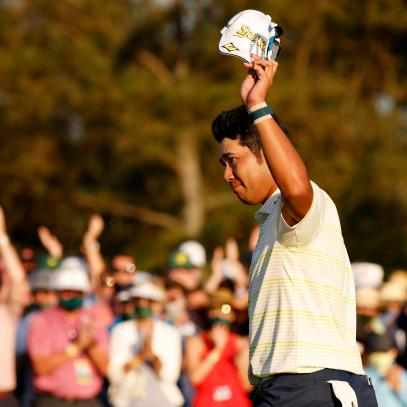 Masters 2021 live updates: Hideki Matsuyama survives bumpy second nine to claim Japan's first win at Augusta National