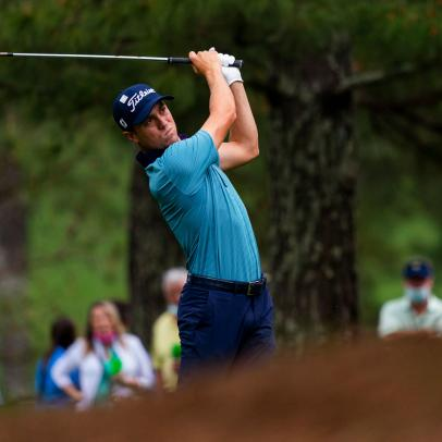 Masters 2021: Justin Thomas enjoys a rousing tour through Amen Corner
