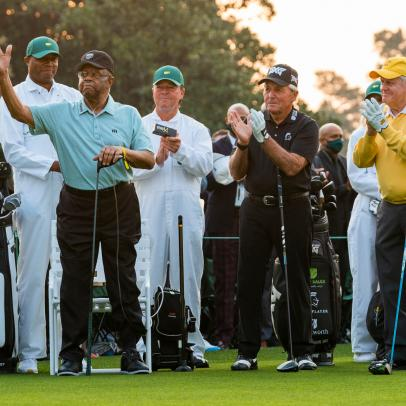 Masters 2021: Lee Elder makes history again at Augusta National as an honorary starter