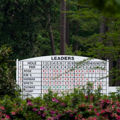 Masters 2021 tee times: Starting times and pairings for Saturday's third round at Augusta National