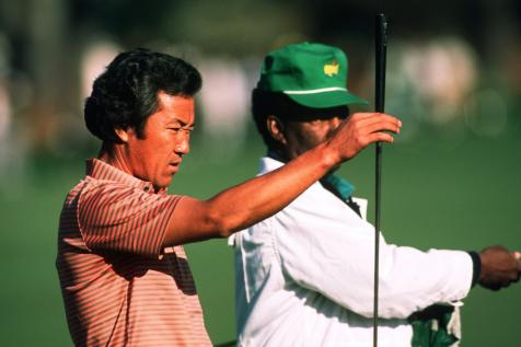 Masters 2021: Japan's first PGA Tour star celebrates his country's first men's major champ