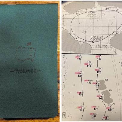 Masters 2021: Collin Morikawa's yardage book reveals the work pros put in to prep for Augusta National
