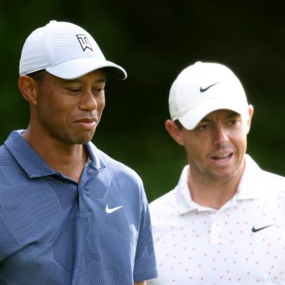 Masters 2021: Rory McIlroy told an incredible story about a recent visit to Tiger Woods' trophy cabinet