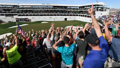 The PGA Tour announces it will open its own sportsbook at TPC Scottsdale, operated by DraftKings