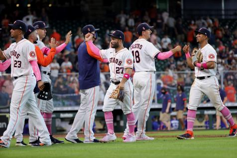 The Houston Astros just did something...good?