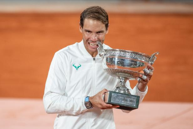 Rafael Nadal has a great shot to set the grand slam record in Paris...and there won't be many more