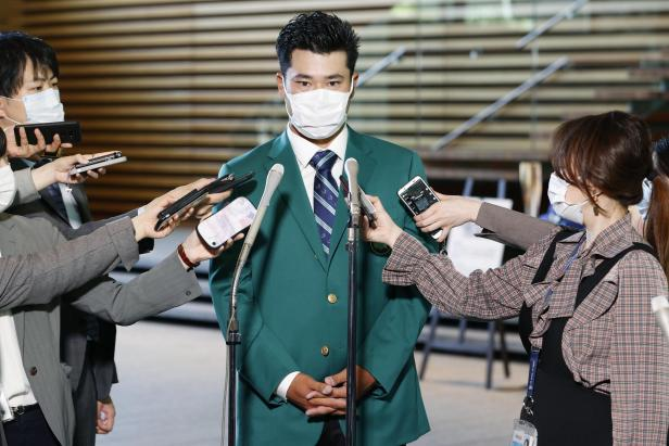 After soaking up praise for his Masters win, Hideki Matsuyama goes back to work