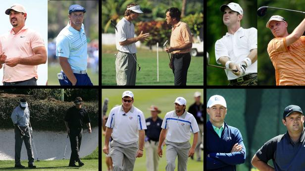 13 of the greatest feuds in golf history
